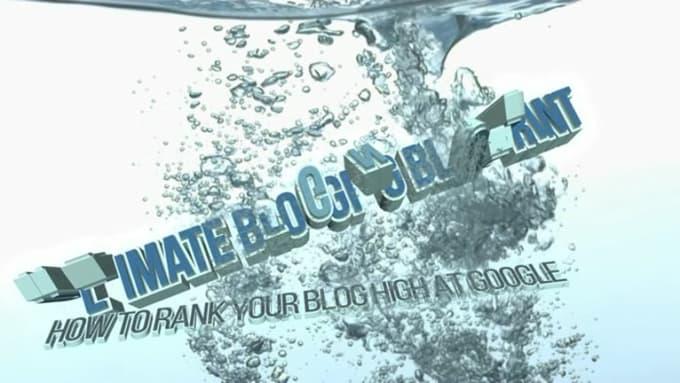 Splash Trailer Intro - Ultimate Blogging Blueprint