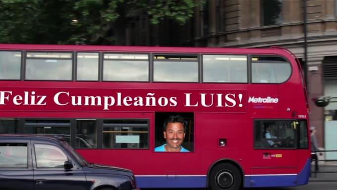 Feliz Cumpleaños mi Luis ver 2