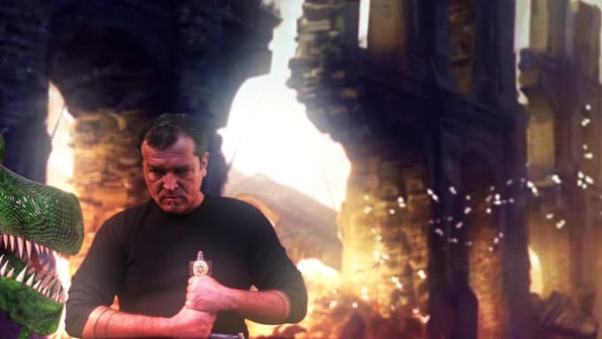 Dragon hunter VFX shot 1080p