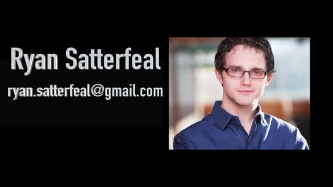 Ryan Satterfeal Demo Reel-HD 720p