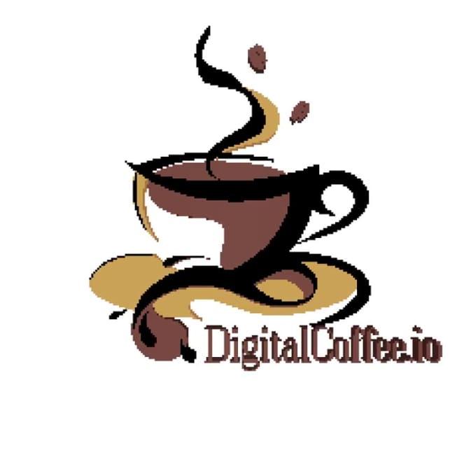 digital coffee animation