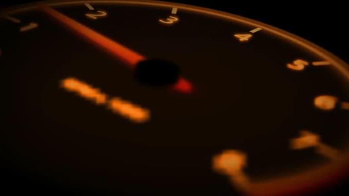alansee speedometer Logo Reveal done