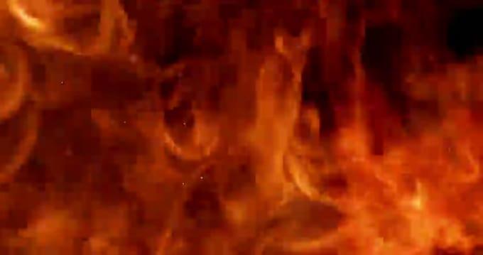 Fire animation 4K