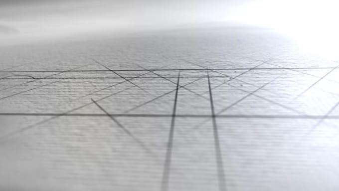 sketch logo reveal-Yonatan