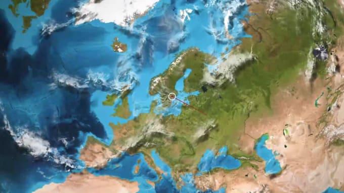 sweden_earth zoom in