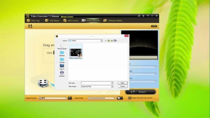 video converter features