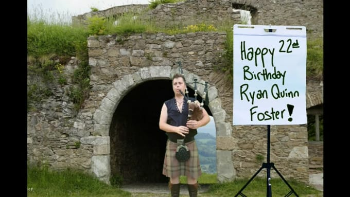Happy Birthday Ryan Quinn Foster