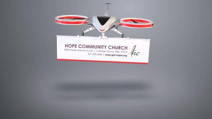 Hope Community drone intro