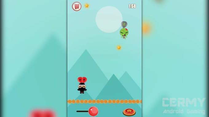 NinjaBalloonFightCermyGameplay