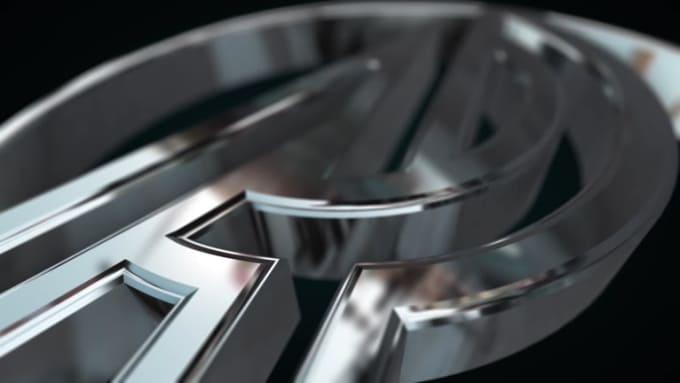 3D Chrome Logo Intro HiREZ V2