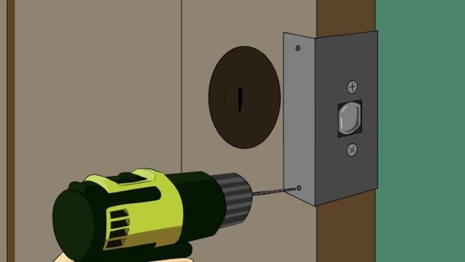Door Animation Part-2 Step3