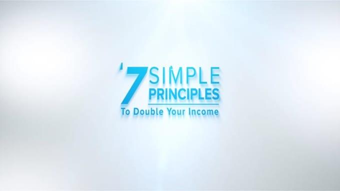 7 simple principles