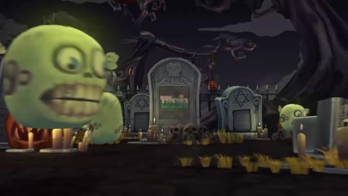 halloween bio bin 2