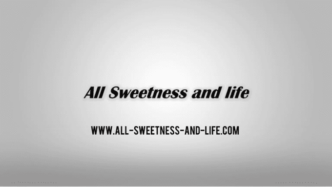 All sweetness Logo Intro