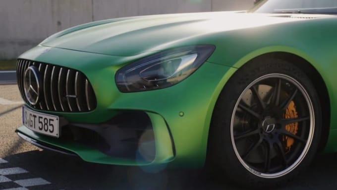 Mercedes logo canada 1080p