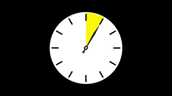 1 hour clock lapse rev2