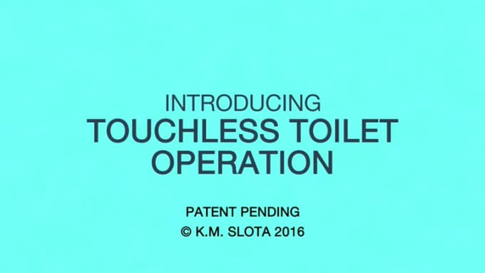 touchless toilet re