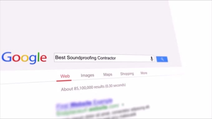 Soundproofing google commercial