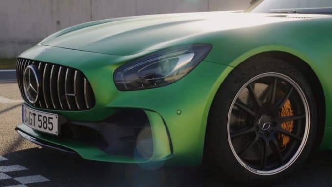 Mercedes logo VERVX 1080p