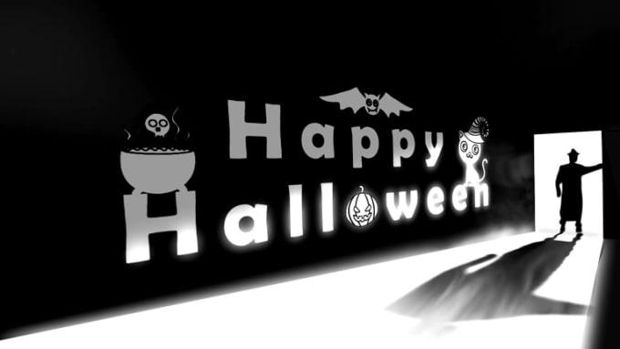 waltersmithae video intro logo animation halloween_x264