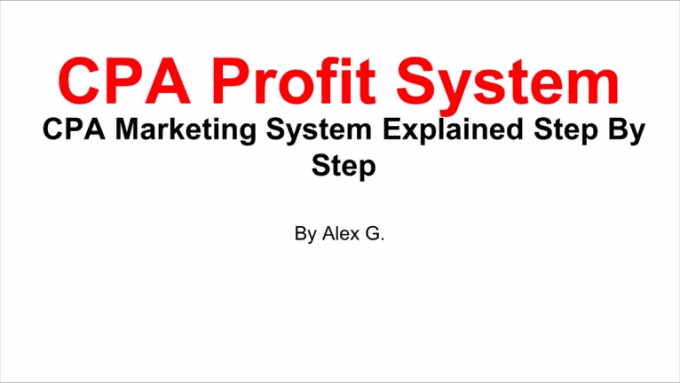 cpa profit system