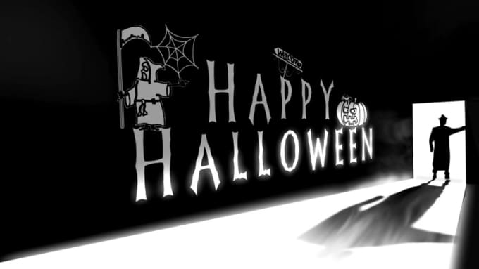 Halloween video intro for logo_x264