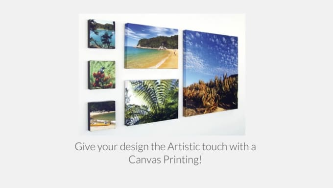 55 P - Canvas Printing VID