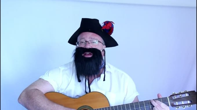 FIVERR - PIRATE BIRTHDAY SONG
