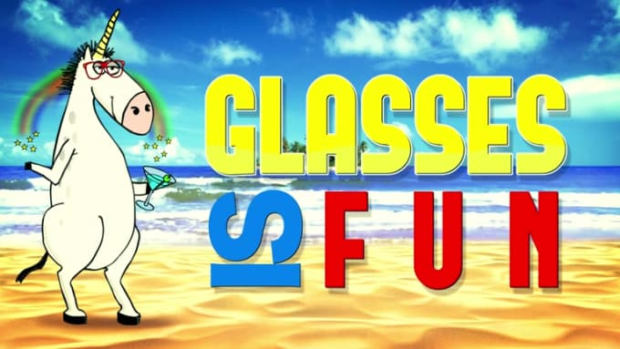 Glasses is fun logo