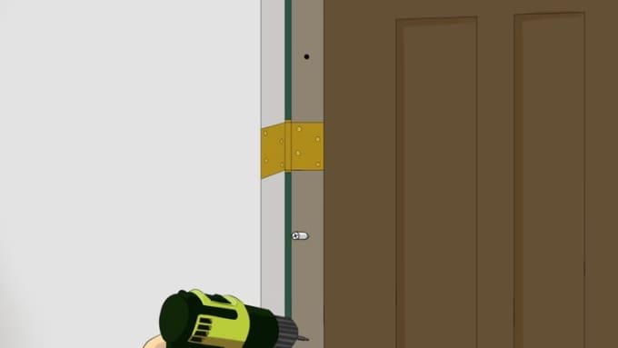 Door Animation Step 22