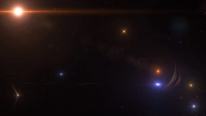 Star Explosion Spatial Reflection 720p