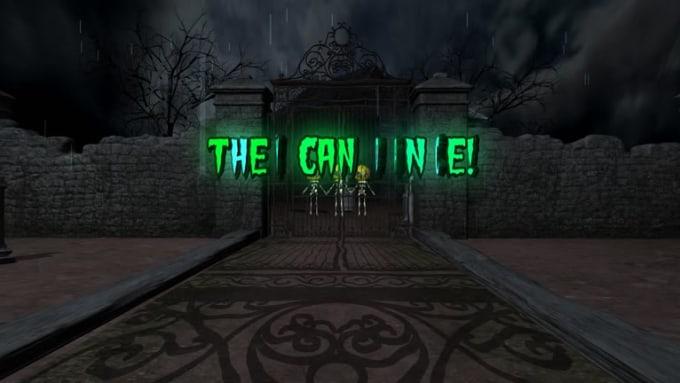 Spooky Halloween Greeting - HD