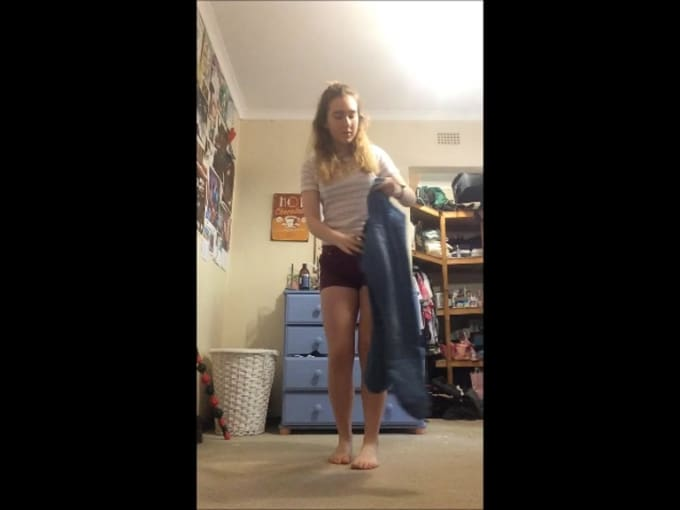 2 minute jeans challenge