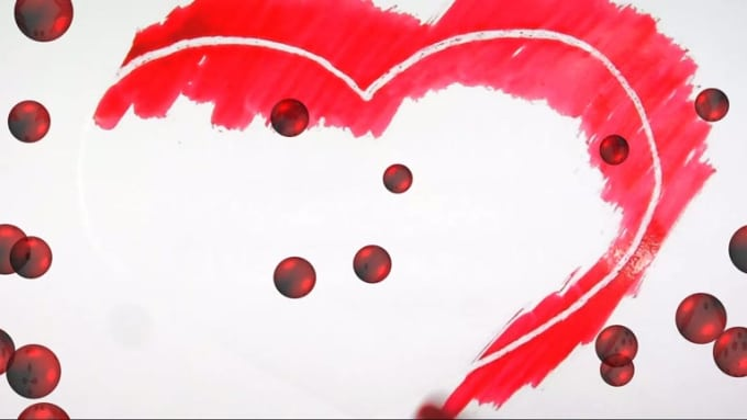 Fiverr- Samnet - Heart Paint 111 - mp4- HD