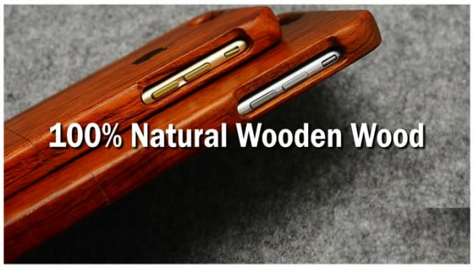 wooden cases for Iphone 4, 5 & 6