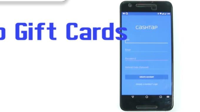 CashTap gift cards