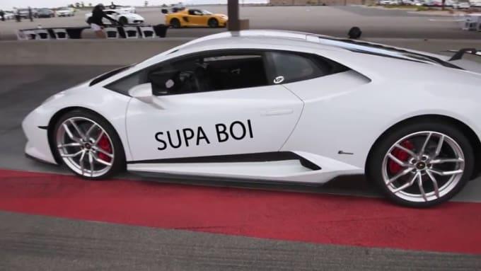 supaboiregis White Lamborghini done
