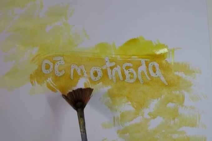 Impressionism video painting 9884356321