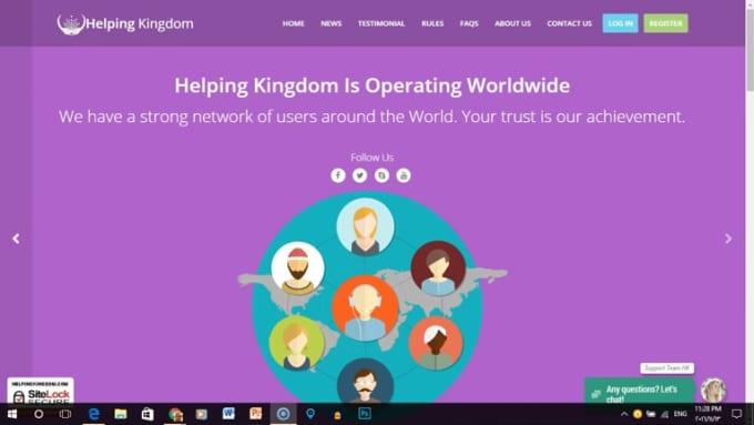 Helping Kingdom Registration