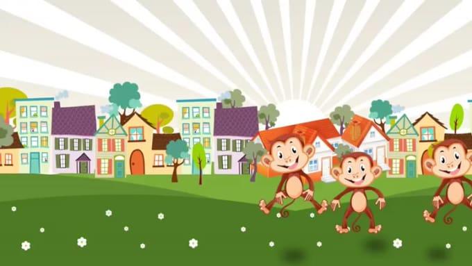 Five Little Monkey