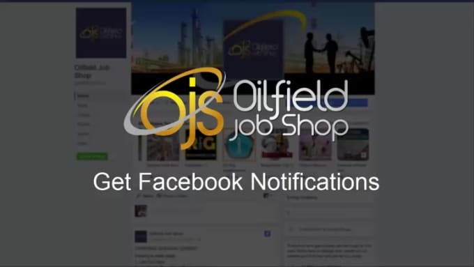 FB Notifications Video Clip for Oil Fields Jobs