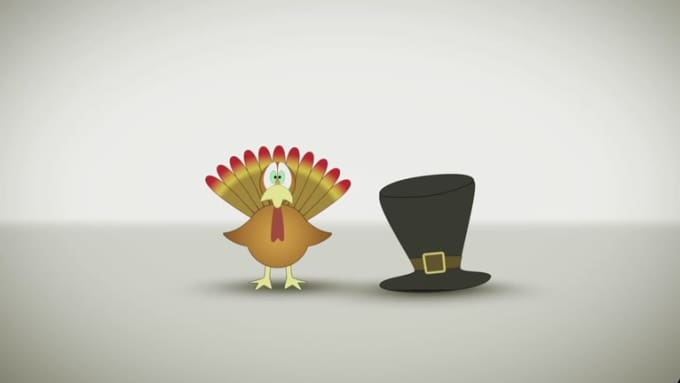 Tom Turkey and The Pilgrim Hat