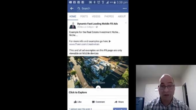 Nick Dynamic Fast Loading Facebook Ad