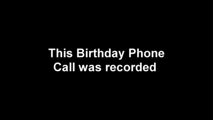 Obama Birthday Call - Theresa