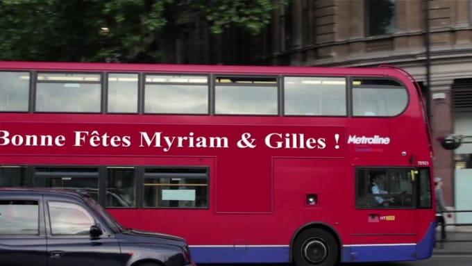 Bonne Fêtes Myriam & Gilles !