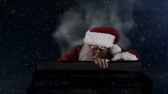Magzhizn Santa Drunk Commercial