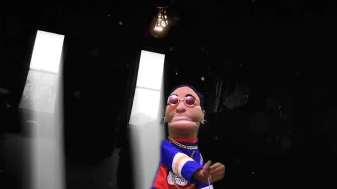Puppet Custom gig for thevizzi REDO
