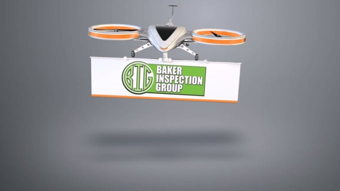 Baker video intro Gray background