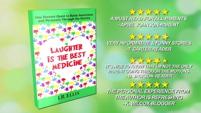 Laughter is the best medicine Book Promo Revision