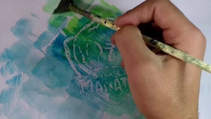 speed painting 98882347